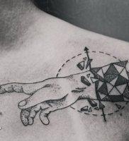 фото тату Дотворк от 27.02.2018 №120 — Dotvork tattoo — tattoo-photo.ru