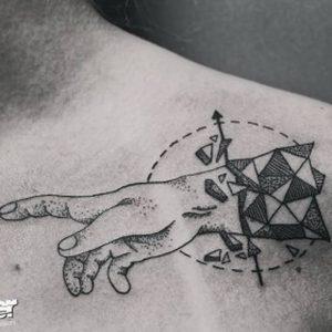 фото тату Дотворк от 27.02.2018 №120 - Dotvork tattoo - tattoo-photo.ru