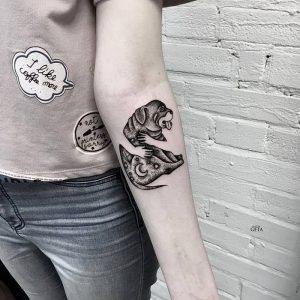 фото тату Дотворк от 27.02.2018 №121 - Dotvork tattoo - tattoo-photo.ru
