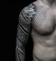 фото тату Дотворк от 27.02.2018 №127 — Dotvork tattoo — tattoo-photo.ru