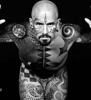фото тату Дотворк от 27.02.2018 №128 — Dotvork tattoo — tattoo-photo.ru