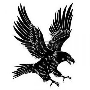 фото тату Орел от 10.03.2018 №016 - tattoo eagle - tattoo-photo.ru
