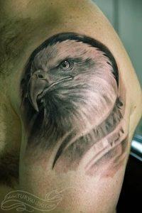 фото тату Орел от 10.03.2018 №075 - tattoo eagle - tattoo-photo.ru