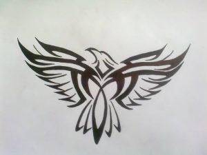 фото тату Орел от 10.03.2018 №131 - tattoo eagle - tattoo-photo.ru