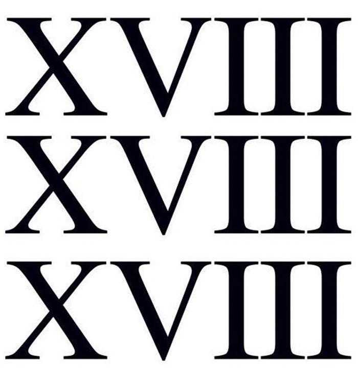 века картинки римские цифры событие отпразднует