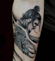 фото тату Самурай от 20.02.2018 №137 — tattoo samurai — tattoo-photo.ru