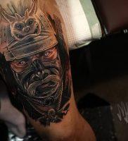 фото тату Самурай от 20.02.2018 №145 — tattoo samurai — tattoo-photo.ru
