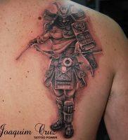 фото тату Самурай от 20.02.2018 №146 — tattoo samurai — tattoo-photo.ru