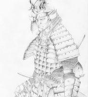 фото тату Самурай от 20.02.2018 №150 — tattoo samurai — tattoo-photo.ru