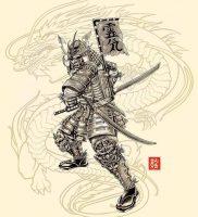 фото тату Самурай от 20.02.2018 №154 — tattoo samurai — tattoo-photo.ru