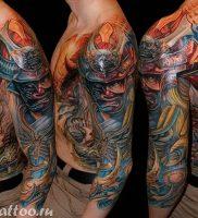 фото тату Самурай от 20.02.2018 №157 — tattoo samurai — tattoo-photo.ru
