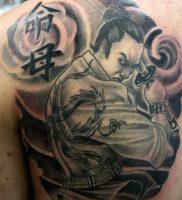 фото тату Самурай от 20.02.2018 №159 — tattoo samurai — tattoo-photo.ru