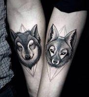 фото тату волк от 12.03.2018 №013 — tattoo wolf — tattoo-photo.ru