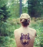 фото тату волк от 12.03.2018 №114 — tattoo wolf — tattoo-photo.ru