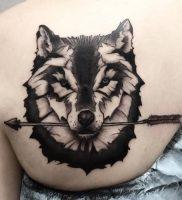 фото тату волк от 12.03.2018 №115 — tattoo wolf — tattoo-photo.ru