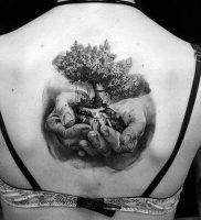 фото тату древо жизни от 09.01.2018 №119 — tattoo tree of life — tattoo-photo.ru