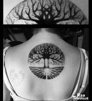 фото тату древо жизни от 09.01.2018 №121 — tattoo tree of life — tattoo-photo.ru