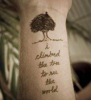 фото тату древо жизни от 09.01.2018 №125 — tattoo tree of life — tattoo-photo.ru