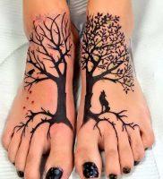 фото тату древо жизни от 09.01.2018 №130 — tattoo tree of life — tattoo-photo.ru