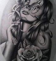 фото тату клоун от 14.01.2018 №005 — Clown tattoo — tattoo-photo.ru