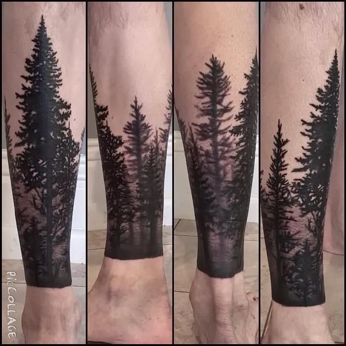 Татуировка на руках девушки фото