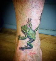 фото тату лягушка от 08.01.2018 №113 — tattoo frog — tattoo-photo.ru