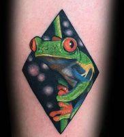фото тату лягушка от 08.01.2018 №118 — tattoo frog — tattoo-photo.ru