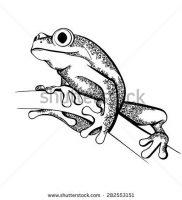 фото тату лягушка от 08.01.2018 №120 — tattoo frog — tattoo-photo.ru