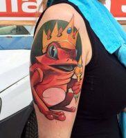 фото тату лягушка от 08.01.2018 №124 — tattoo frog — tattoo-photo.ru