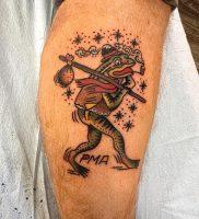 фото тату лягушка от 08.01.2018 №126 — tattoo frog — tattoo-photo.ru