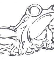 фото тату лягушка от 08.01.2018 №129 — tattoo frog — tattoo-photo.ru
