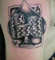 фото тату масть карт пики от 19.02.2018 №004 — tattoo suit cards peaks — tattoo-photo.ru