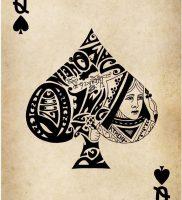 фото тату масть карт пики от 19.02.2018 №010 — tattoo suit cards peaks — tattoo-photo.ru