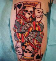 фото тату масть карт пики от 19.02.2018 №013 — tattoo suit cards peaks — tattoo-photo.ru