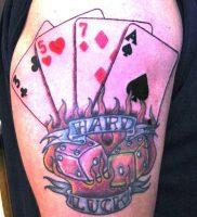 фото тату масть карт пики от 19.02.2018 №076 — tattoo suit cards peaks — tattoo-photo.ru