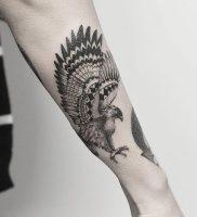 фото тату ястреб от 27.01.2018 №001 — tattoo hawk — tattoo-photo.ru