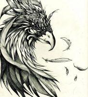 фото тату ястреб от 27.01.2018 №010 — tattoo hawk — tattoo-photo.ru