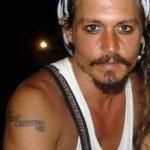 фото Тату Джонни Деппа от 15.04.2018 №019 - Tattoo Johnny Depp - tattoo-photo.ru