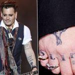фото Тату Джонни Деппа от 15.04.2018 №020 - Tattoo Johnny Depp - tattoo-photo.ru