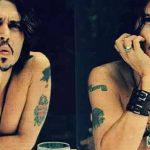 фото Тату Джонни Деппа от 15.04.2018 №023 - Tattoo Johnny Depp - tattoo-photo.ru