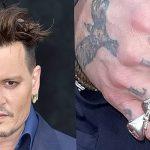 фото Тату Джонни Деппа от 15.04.2018 №024 - Tattoo Johnny Depp - tattoo-photo.ru