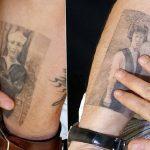 фото Тату Джонни Деппа от 15.04.2018 №027 - Tattoo Johnny Depp - tattoo-photo.ru