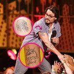 фото Тату Джонни Деппа от 15.04.2018 №031 - Tattoo Johnny Depp - tattoo-photo.ru