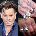 фото Тату Джонни Деппа от 15.04.2018 №055 - Tattoo Johnny Depp - tattoo-photo.ru