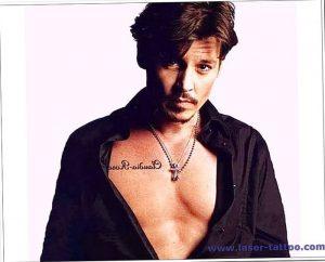 фото Тату Джонни Деппа от 15.04.2018 №065 - Tattoo Johnny Depp - tattoo-photo.ru