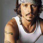 фото Тату Джонни Деппа от 15.04.2018 №067 - Tattoo Johnny Depp - tattoo-photo.ru