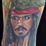 фото Тату Джонни Деппа от 15.04.2018 №081 - Tattoo Johnny Depp - tattoo-photo.ru