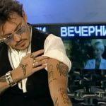 фото Тату Джонни Деппа от 15.04.2018 №084 - Tattoo Johnny Depp - tattoo-photo.ru