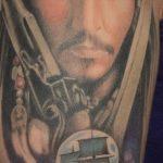фото Тату Джонни Деппа от 15.04.2018 №089 - Tattoo Johnny Depp - tattoo-photo.ru