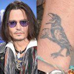 фото Тату Джонни Деппа от 15.04.2018 №099 - Tattoo Johnny Depp - tattoo-photo.ru